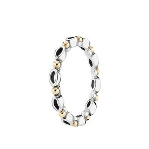 Pandora 14K & Silver Always & Forever Ring